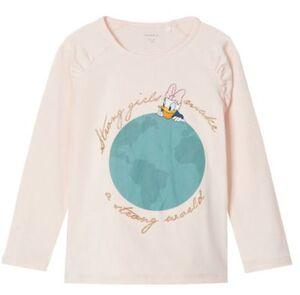 Langarmshirt NMFDAISY  rosa Gr. 86 Mädchen Kleinkinder