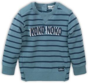 Sweatshirt  grün/blau Gr. 116 Jungen Kinder