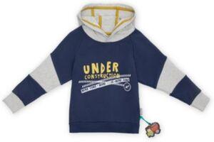 Sweatshirt mit Kapuze  blau/grau Gr. 98 Jungen Kleinkinder