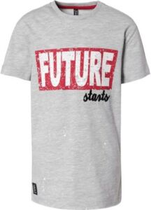 T-Shirt  hellgrau Gr. 140 Jungen Kinder