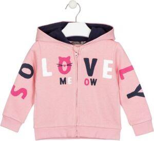 Sweatjacke  creme/rosa Gr. 98 Mädchen Kleinkinder