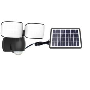 LED-Außenleuchte Kunststoff solarbetrieben 7 Watt