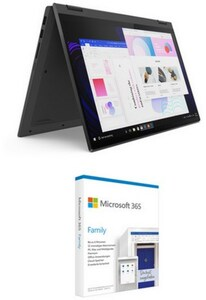 "IdeaPad Flex 5 (82HS00F3GE) 35,56 cm (14"") 2 in 1 Convertible-Notebook graphite grey inkl. 365 Famil"