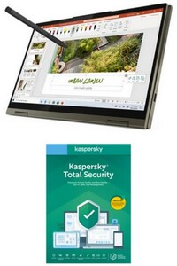 "Yoga 7 (82BH004XGE) 35,56 cm (14"") 2 in 1 Convertible-Notebook slate grey inkl. Total Security"