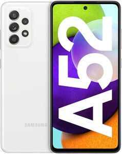 Galaxy A52 (128GB) Smartphone awesome white