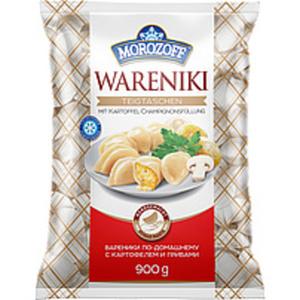 """Teigtaschen """"Wareniki"""" handgemacht mit Kartoffel-Champignons..."""