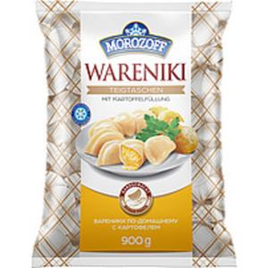 """Teigtaschen """"Wareniki"""" handgemacht mit Kartoffelfüllung, tie..."""