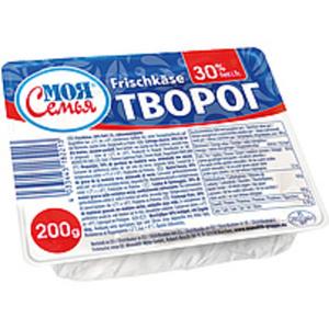 Frischkaese, 30% Fett i.Tr., vakuumverpackt.