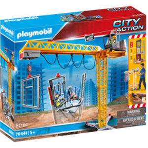 PLAYMOBIL® City Action 70441 RC-Baukran mit Bauteil