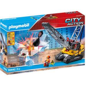PLAYMOBIL® City Action 70442 Seilbagger mit Bauteil