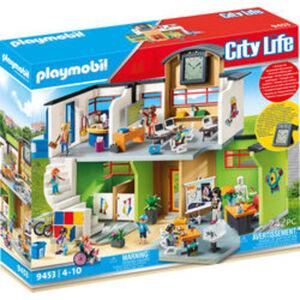 PLAYMOBIL® City Life 9453 Große Schule mit Einrichtung