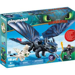 PLAYMOBIL® Dragons 70037 Ohnezahn und Hicks Spielset