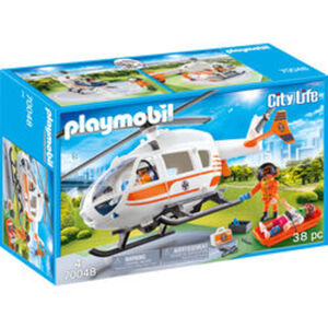 PLAYMOBIL® City Life 70048 Rettungshelikopter