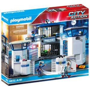 PLAYMOBIL® City Action 6872 Polizei-Kommandozentrale mit Gefängnis