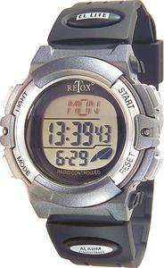 RETOX Funk LCD Armbanduhr mit Alarm, Stoppuhr + Datumanzeige, 3ATM