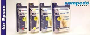 Druckerpatrone für Epson T1291-4 4er Multipack in den Farben cyan, gelb, magenta und schwarz