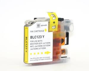 Druckerpatrone für Brother LC123Y08 gelb