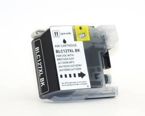 Druckerpatrone für Brother LC127XLK01 schwarz