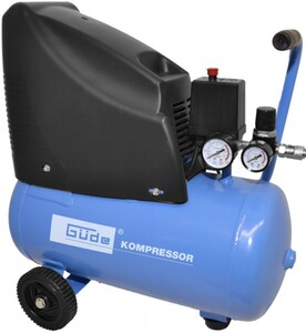 Güde Kompressor 220/08/24 24l 8bar, 24l, 140 l/min, 1,1KW, ölfrei