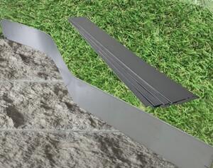TrendLine Metall-Rasenkante 1,19 m x 13 cm