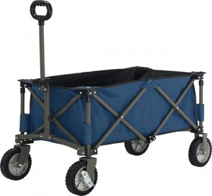 TrendLine Faltbarer Campingwagen 90,5 x 49 cm, Höhe: 56 cm