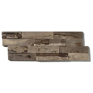 Venda Wandverkleidung  Indo Driftwood Hevea  Hellbraun