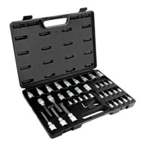 STIER Bit-Steckschlüsselsatz, 1/2 Zoll, 1/4 Zoll, ISK/TX, 42-teilig