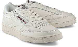 Reebok Classic, Sneaker Club C 85 in weiß, Sneaker für Herren