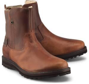 bugatti Denim, Winter-Boots in mittelbraun, Stiefel für Herren