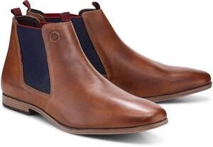 COX, Chelsea-Boots in mittelbraun, Stiefel für Herren