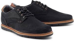 COX, Freizeit-Schnürer in schwarz, Schnürschuhe für Herren