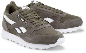 Reebok Classic, Classic Leather Mu in khaki, Sneaker für Herren