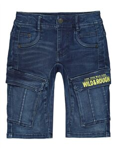 Jungen Shorts in Washed Out-Look