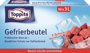 Toppits Gefrierbeutel 3L 30 Stück