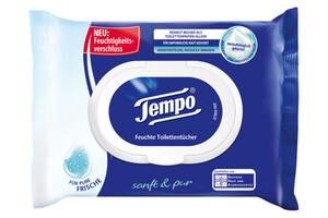 Tempo Feuchte Toilettentücher Sanft & Pur 42 Tücher