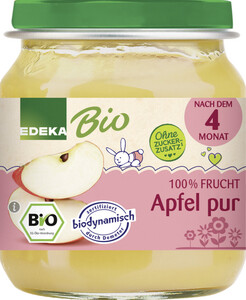 EDEKA Bio Apfel pur nach dem 4.Monat 125G
