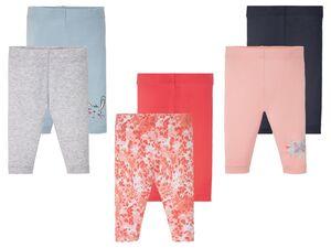 LUPILU® Baby Leggings Mädchen, 2 Stück, mit Baumwolle