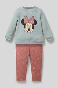 C&A Minnie Maus-Baby-Outfit-Bio-Baumwolle-2 teilig, Grün, Größe: 62