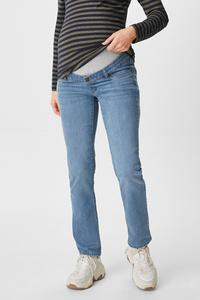 C&A Umstandsjeans-Bio-Baumwolle, Blau, Größe: 34