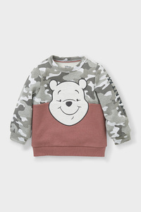 C&A Winnie Puuh-Baby-Sweatshirt-Bio-Baumwolle, Grau, Größe: 80