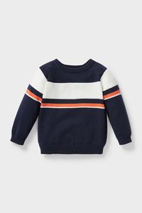 C&A Baby-Pullover-Bio-Baumwolle, Blau, Größe: 62