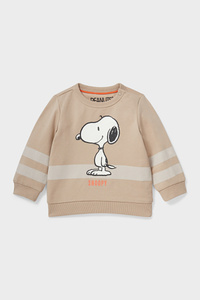 C&A Snoopy-Baby-Sweatshirt-Bio-Baumwolle, Beige, Größe: 62