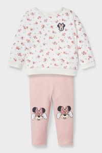 C&A Minnie Maus-Baby-Outfit-Bio-Baumwolle, Weiß, Größe: 62