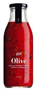 Viani Olive - Sugo aus frischen Tomaten, Oliven und Kapern 500ml 0000 - Saucen, Pesto & Chutneys, Italien, 0,5l