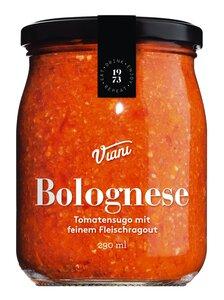 Viani Bolognese - Tomatensugo mit feinem Fleischragout 290ml 0000 - Saucen, Pesto & Chutneys, Italien, 0.2900 l