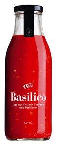 Viani Basilico - Sugo aus frischen Tomaten und Basilikum 500ml 0000 - Saucen, Pesto & Chutneys, Italien, 0,5l