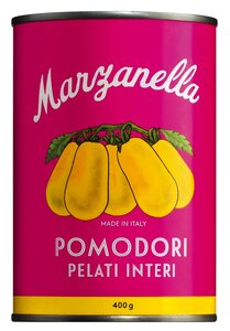 Marzanella Pomodori Pelati Interi 400g 0000 - Konserven - Solania, Italien, 0.4000 kg