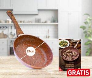 Livington Copper & Stone Pan 24cm