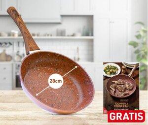 Livington Copper & Stone Pan 28cm