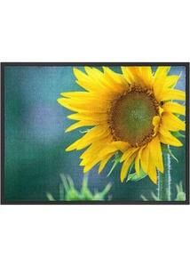 Fußmatte mit Sonnenblumenmotiv